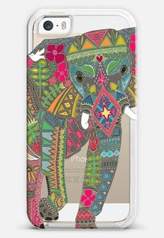 painted elephant transparent iPhone 6 case by Sharon Turner   Casetify