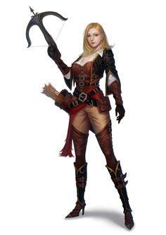 hunter, jang jongyeol on ArtStation at https://www.artstation.com/artwork/l64nJ