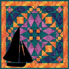 Lost At Sea Wallhanging Quilt Pattern