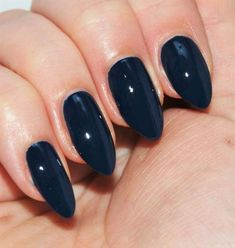 OPI 'I Saw…U Saw…We Saw…Warsaw' nail polish review with swatches. Another gorgeous nail varnish from the Euro Centrale collection. Dark navy nail varnish, manicure inspiration. #talontedlex #opinails #bluenails Dark Blue Nails, Navy Nails, Opi Nails, Nail Manicure, Manicures, Blue Nail Polish, Gel Polish, Nail Art Techniques, Great Nails