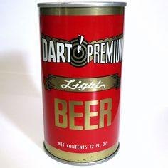 Dart Premium Light Pull Tab Beer Can