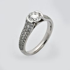 Love this ring we've just finished for a bespoke order