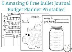 Free Budget Planner Printables Bullet Journal Main Image