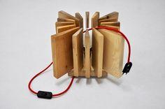 """Lampade da terra - Lampada di legno """"Piccolo Sole"""" - un prodotto unico di crea-re su DaWanda"""