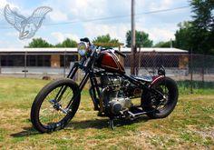 jason's chopper (with a tribute to mama) Custom Wheels, Custom Bikes, Xs650 Bobber, Yamaha 650, Build A Bike, H Words, Cafe Racer Build, Chopper Motorcycle, Pinstriping