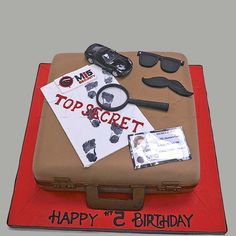 secret agent cake - Google Search