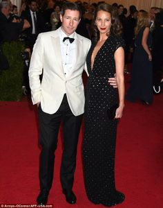 Ed Burns and Christy Turlington-Burns