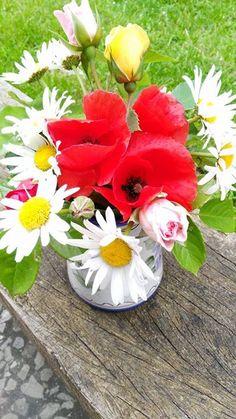 Blumenstrauß mit Mohn
