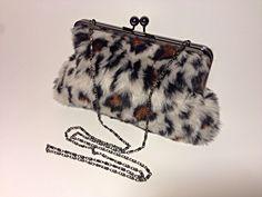 https://www.etsy.com/listing/215538806/leopard-brown-black-grey-faux-fur-black #craftshout1229