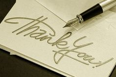 """Thank You Note Etiquette: Emily Post even suggested that, """"the letter you write…is always a mirror which reflects your...character."""""""