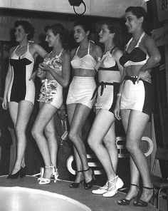 1949 Beauty Pageant #wolf-whistle