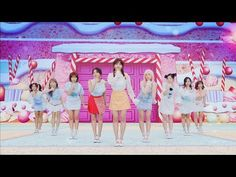 Korean girl group TWICE released their second original Japanese single today with an anime-infused music video. Twice Lyrics, Twice Songs, Nayeon, K Pop, Moe Manga, Twice Album, Japanese Singles, Sana Momo, Pop Stickers