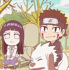 Team 8 - Hinata, Shino, Kiba and Akamaru Hinata Hyuga, Naruhina, Sasunaru, Kiba And Akamaru, Shikamaru, Gaara, Naruto Sd, Naruto Teams, Naruto And Hinata