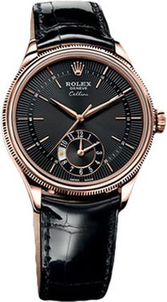 Buy Rolex Cellini Dual Time Watches, authentic at discount prices. All current Rolex styles available. Rolex Watches For Men, Luxury Watches For Men, Cool Watches, Men's Watches, Watches Online, Elegant Watches, Beautiful Watches, Casual Watches, Rolex Cellini
