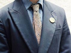 Tan Elegancia Flecked Tie