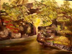 Puente de piedra  oleo/lienzo  73x92