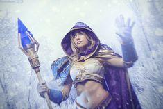 Warcraft III - Jaina Proudmoore: Blizzard spell by Narga-Lifestream on DeviantArt