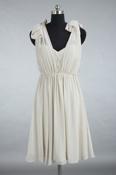 Junior Bridesmaid Dress Grey Convertible Chiffon by harsuccthing, $89.00   other ways to wear it