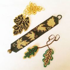 Golden leaves🍂🕊🌱🌿🍁🍃🍀☘🍂 #miyukidelica #brickstitch #brooch #broş #miyuki #peyote #peyotestitch #colorful #bracelet #necklace #african #seedbeads #jean #handmadewithlove #handmade #handmadeloves #goodcharma @creatorslane #craftsposure @craftsposure #makerswillage #handmadecurator #bitkiaskina #favehandmade #boncukişleme #kolye #tarz #bileklik #küpe #set #kolye #bileklik #peyote #bracelet #elyapımı WhatsApp 05423876252 / DM @10marifet @best_handmade_world