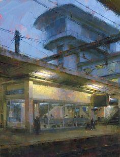 The Transfer by Jennifer McChristian Oil ~ 20 x 16