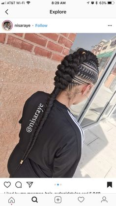 Speciale Vlechten Hair In 2019 Braided Hairstyles Feed In Braids Hairstyles, My Hairstyle, African Hairstyles, Braided Hairstyles, Hairstyle Ideas, Top Hairstyles, Black Girl Braids, Girls Braids, 4 Braids