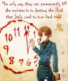 hetalia headcanons | The only way they can permanently kill the monster is to destroy ...