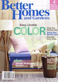 Better Homes And Gardens Magazine February 2013 Searchable Index Of Recipes Garden Ideas DiyMedia DesignRomantic