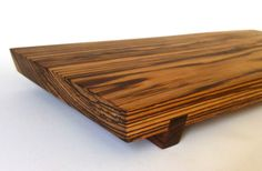 Footed Cocobolo Wood Serving Board by BearMountainWoodwork on Etsy Lap Tray, Host Gifts, Wood Cutting Boards, Serving Board, Wood Boxes, House Warming, Wedding Gifts, Centerpieces, Woodworking
