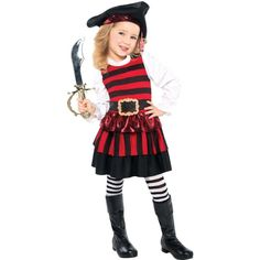 Amazon.com Sweet Treat Halloween Costume - Toddler Size Large 4-6 Toys u0026 Games | holidays - Halloween - costumes | Pinterest | Halloween costume toddler ...  sc 1 st  Pinterest : pirate costume toddler  - Germanpascual.Com