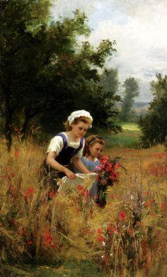 G. Todd, Gathering Poppies