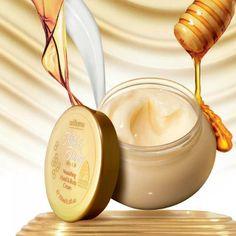 Let me tell you about Oriflame Milk and Honey Gold Nourishing Hand and Body Cre. Gold Shower, Milk And Honey, Hand Cream, Organic Skin Care, Ethnic Recipes, Oriflame Business, Beauty, Consistency, Showroom
