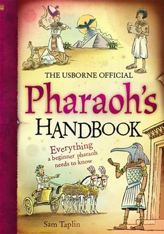 Usborne Books - Pharaoh's handbook - click here to view a larger version of this cover