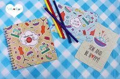 Jetzt **NEU** die beliebten Designs von Hamburger Liebe auch als **Postkarte**!  Für alle Nähsüchtigen und Stoffliebhaber von HAMBURGER LIEBE ist die Postkarte **VON MIR FÜR DICH** genäht mit...