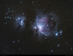 The Orion Nebula captured by by Maik Thomas on 30.09.13