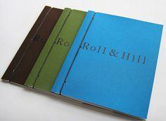 Roll & Hill Catalogs by Studio Lin, via Behance