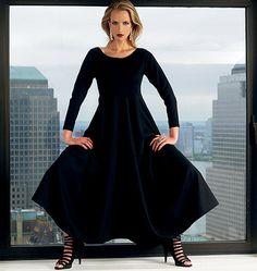 Vogue 1312 Vogue 1312 Robe, Créateur Lynn Mizono, facile, tailles 36 à 44 et 44 à 52