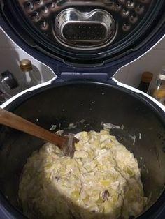 Une fondue de poireaux fondante et goûtée en peu de temps avec le cookeo