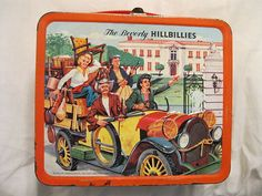 Vintage The Beverly Hillbillies Lunch Box Aladdin 1963 Hill Billies Vintage Lunch Boxes, Vintage Tins, Vintage Candy, Star Wars Lunch Box, Buddy Ebsen, The Beverly Hillbillies, Lunch Box Thermos, School Lunch Box, Whats For Lunch
