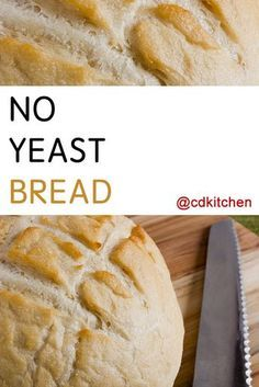 bread recipes without yeast * bread recipes _ bread recipes homemade _ bread recipes easy _ bread recipes easy no yeast _ bread recipes homemade easy _ bread recipes no yeast _ bread recipes artisan _ bread recipes without yeast Artisan Bread Recipes, Yeast Bread Recipes, Quick Bread Recipes, Bread Machine Recipes, Easy Bread, Banana Bread Recipes, Cooking Recipes, Vegan Bread Recipe No Yeast, Cake Recipes