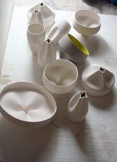 #ceramic marset pleat box making of