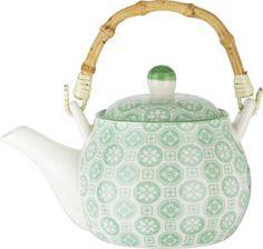 Teekanne aus Keramik in verschiedenen Motiven erhältlich. D/H: ca. 17,8/11cm.