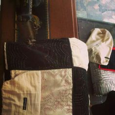 The Stitching Project. Cotton Quilts, Hand Stitching, New Work, Messenger Bag, Weave, Hand Weaving, Satchel, Projects, Bags