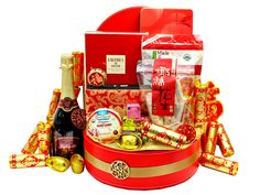 The Best Chinese New Year Gift Baskets Ideas With Mandarin Orange ...