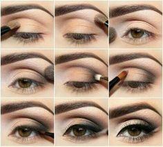 Smoky eye tutorial ..