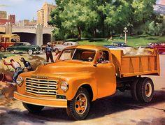 Plan59 :: Classic Truck Art :: 1949 Studebaker Trucks