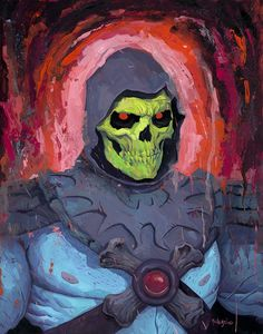 Skeletor - MOTU - Rich Pellegrino
