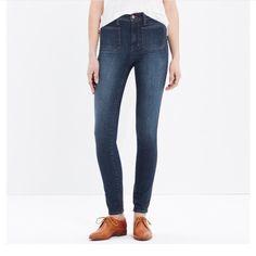 Madewell high waisted sailor jeans 10inch high rise jeans from madewell. Size 25. Inseam 29. Madewell Jeans