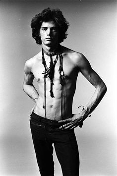 Robert Mapplethorpe photographed by Norman Seef, 1969