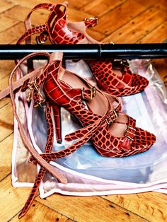 gorgeous #springsandals {Vivienne Westwood Red Label #Spring2014 collection} #lfw