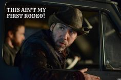 """The Pyro Dude looks like a cowboy that took a wrong turn. 